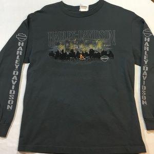 Harley Davidson Long Sleeve Shirt Niagara Falls M